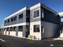 袖ケ浦市奈良輪2丁目新築アパート[1階]の外観