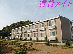 三重県伊勢市中村町の賃貸アパートの外観