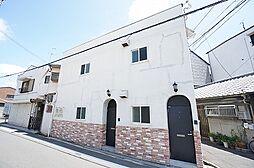 大阪府吹田市東御旅町の賃貸アパートの外観