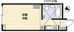 Big5並木PLAZA[103号室]の間取り