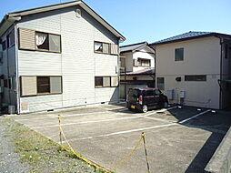 千葉県長生郡一宮町東浪見の賃貸アパートの外観