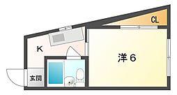 フォーラムイン清州[3階]の間取り