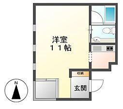 FULL HOUSE[2階]の間取り
