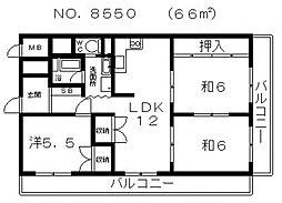 四天王寺前夕陽ヶ丘駅 9.7万円