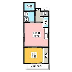 La Luce yn[4階]の間取り