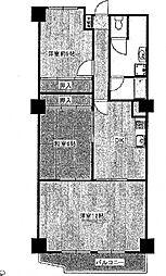 岡本センチュリーマンション[208号室号室]の間取り