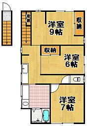 JUNK伝法アパートメント[2階]の間取り