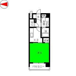エスペランサ真清田[3階]の間取り