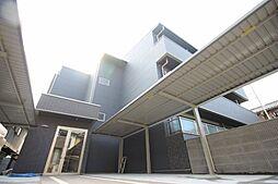 京都府京都市山科区御陵中内町の賃貸アパートの外観