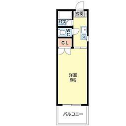 東洋プラザ大阪港1[7階]の間取り