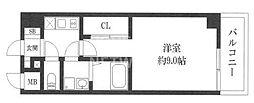 インベスト京都修学院[210号室号室]の間取り