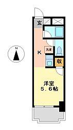アンシャンテ川原[7階]の間取り