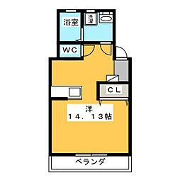 K'S TOWN I[2階]の間取り