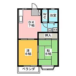 ASK佐藤A[2階]の間取り