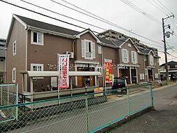 岡山県岡山市中区藤原西町1丁目の賃貸アパートの外観