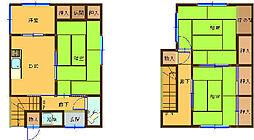 [一戸建] 和歌山県和歌山市田野 の賃貸【和歌山県 / 和歌山市】の間取り