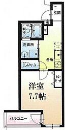 JR東海道・山陽本線 西宮駅 徒歩5分の賃貸アパート 2階1Kの間取り