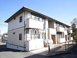 グリーンフローラA棟[2階]の外観