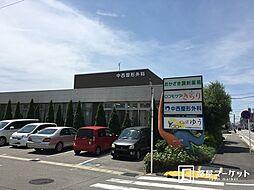 愛知県岡崎市北野町字二番訳の賃貸アパートの外観