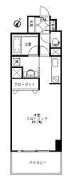 フェリズ横浜関内[205号室]の間取り