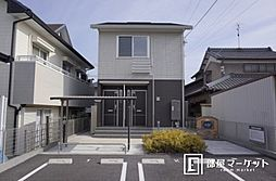 愛知県岡崎市井ノ口町字赤城の賃貸アパートの外観