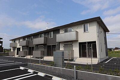 外観,2LDK,面積52.62m2,賃料7.1万円,つくばエクスプレス 万博記念公園駅 徒歩15分,,茨城県つくば市島名