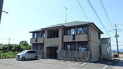 群馬県太田市上小林町の賃貸アパートの外観