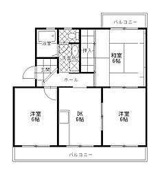 エミネンス渋谷[2階]の間取り