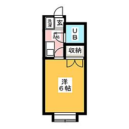 片岡ビル[2階]の間取り