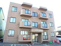 北海道江別市見晴台の賃貸マンションの外観