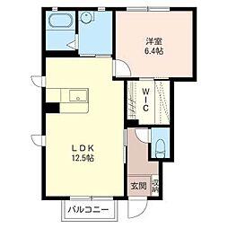 CHIHIRO HOUSE C[1階]の間取り