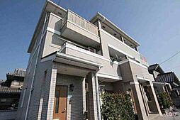 広島県福山市山手町1丁目の賃貸アパートの外観