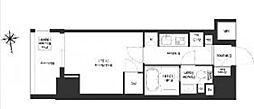 JR総武線 浅草橋駅 徒歩8分の賃貸マンション 8階1Kの間取り
