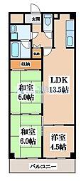 セワール吉田[7階]の間取り