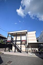 大阪府南河内郡河南町大字一須賀の賃貸アパートの外観