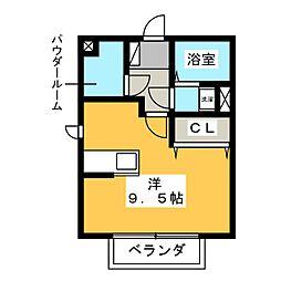 K.スクエア[2階]の間取り