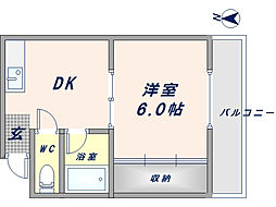 サンコート小澤[3階]の間取り