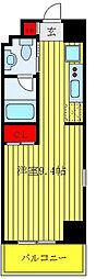 東京メトロ丸ノ内線 茗荷谷駅 徒歩8分の賃貸マンション 5階1Kの間取り