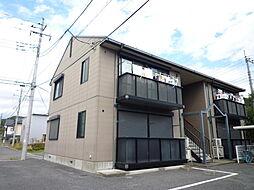 栃木県鹿沼市玉田町の賃貸アパートの外観
