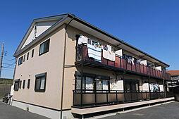 埼玉県川口市東領家5丁目の賃貸アパートの外観
