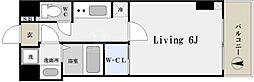 W-STYLE難波[11階]の間取り
