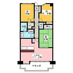 ローレルコート桜山[7階]の間取り