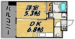 フェルト127[4階]の間取り