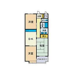 メゾン・ショージ2番館[2階]の間取り