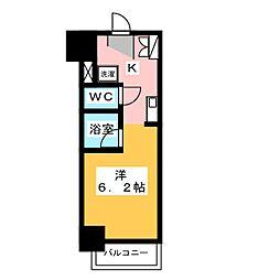オルト春日井[7階]の間取り