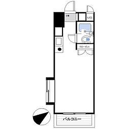 アパートメント曲松[101号室]の間取り