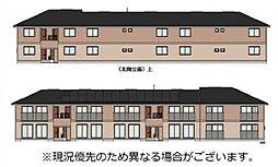 (新築)D‐room 高岡[202号室]の外観