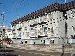 北海道札幌市手稲区前田四条4丁目の賃貸アパートの外観