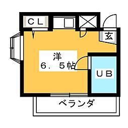 アーバンミユキ[2階]の間取り