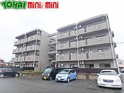 三重県松阪市小黒田町の賃貸マンションの外観